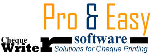 check writing program Ezcheckpersonal software - print pocket-sized personal checks in house (to print business checks, click here to view business version check writing/printing software.